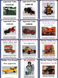 free vintage toy appraisal, www.buddylmuseum.com buying old toys antique toy appraisal free toy appraisal buddy l truck value